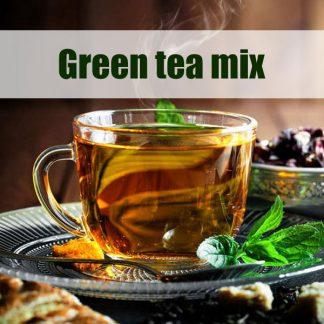 مخلوط چای های سبز